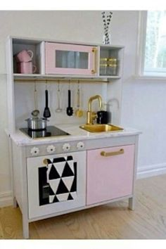 Really awesome IKEA kitchen makeover.