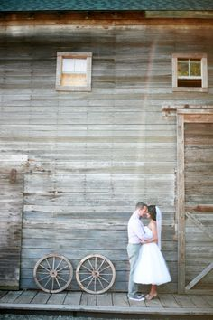 Rustic. Just the look I want