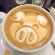 We've seen some seriously amazing latte art, and all these animal variations are no exception. To celebrate National Coffee Day today and combine two of our National Coffee Day, Latte Art, Cold Drinks, Pets, Animals, Food, Cool Drinks, Animales, Animaux