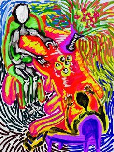 'Tributo a la Mesa Misantropofagiana' by Rony.