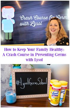 How to Keep Kids Healthy: A Crash Course in Preventing Germs with Lysol #AD…