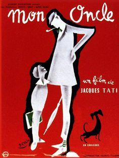Cinéma : Mon Oncle / Film : My Uncle - Illustration : Pierre Etaix