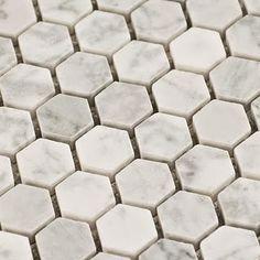 Bathroom tile-floor. Grey bathroom