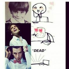 Haha =) Oh MIKA,must you be so gorgeous?