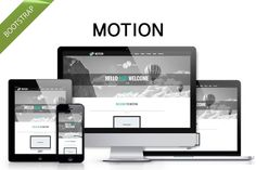 Check out Motion - clean Bootstrap theme by bootstrapbrothers on Creative Market