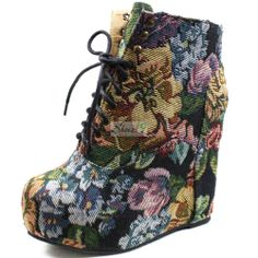 Ankle Booties Chunky Platform High Heel Wedge Fashion Super Star Womens Shoes | eBay