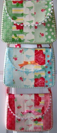 Easy Jellyroll Grab 'n Go Bag PDF Sewing Pattern Give-Away