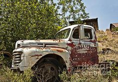 Title  The Old Triangle Truck   Artist  Lee Craig   Medium  Photograph - Photograph-digital Art
