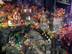 Department 56 Halloween village 2016