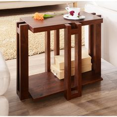 Furniture of America Esseli Rectangular End Table | Overstock™ Shopping - Great Deals on Furniture of America Coffee, Sofa & End Tables