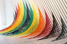 Arte com Fitas Adesivas - Tape Art