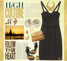 """High culture"" by mmegag ❤ liked on Polyvore"