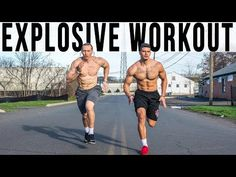 Jump Higher Run Faster Become Explosive | Athletic Workout - YouTube