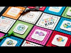 Lunch Box Notes & Cards for Kids (Featuring Gamsol). These are so adorable. Lunchbox Notes For Kids, Lunch Box Notes, Card Tutorials, Video Tutorials, Jennifer Mcguire Ink, Pocket Letters, Cool Cards, Kids Cards, Homemade Cards