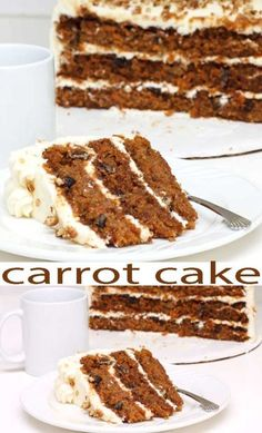 Stress-free Dessert Recipes. Carrot Cake is good food, and this is the Best Carrot Cake Worldwide. More good for you ingredients and an easy cake recipe for homemade cake fun.