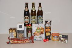 Contents: Blue Diamond Honey Roasted Almonds Always Fresh Deli Moxed Olives Bhuja Cracker Mix 150g Mamee Rice Chips 100g Maggie Beer Cabernet Paste