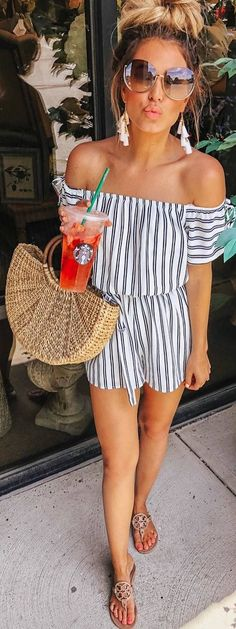 Simple and Casual Summer Outfit Ideas – Beste Outfit Ideen Casual Summer Outfits, Spring Outfits, Trendy Outfits, Cute Outfits, Fashion Outfits, Fashion Tips, Fashion Ideas, Fashion Fashion, Spring Fashion Trends