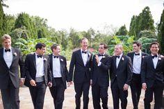 Great groomsmen picture!