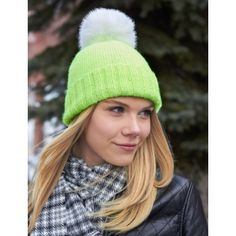 Free Beginner Women's Hat Knit Pattern