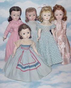 Madame Alexander dolls Little Women #vintage