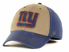 NWT 47 BRAND NEW YORK GIANTS YOSEMITE GRAY HAT CAP XLARGE XL Nfl Gear 46a27130d460