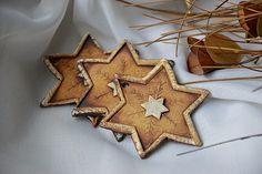 Keramika u Lavender Ceramic Art, Gingerbread Cookies, Diy And Crafts, Lavender, Desserts, Christmas, Painting, Stars, Clay