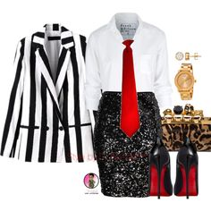 A fashion look from December 2015 featuring Frank & Eileen blouses, H&M skirts and Christian Louboutin pumps. Browse and shop related looks. Office Fashion Women, Work Fashion, I Love Fashion, Curvy Fashion, Fashion Looks, Womens Fashion, Fashion Sets, Fashion Black, Paris Fashion