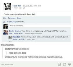 Taco bell, tumblr funny