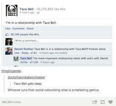 Taco bell, tumblr funny