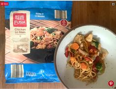 Aldi's freezer version of this takeout favorite is ready in just 12 minutes, which is certainly faster than any takeout I've ever ordered. Upon opening the bag, you'll find nests of frozen noodles among an abundance of bright vegetables that go straight into a hot, oiled skillet or wok. There is a generous portion of savory sauce, so I recommend adding it incrementally after the noodles unfurl. Don't stop at stir-fry either — try simmering this freezer find in broth for a quick and easy… Chicken Lo Mein, Asian Chicken, Steamed Mussels, Easy Restaurant, Elegant Appetizers, Quick And Easy Soup, Garlic Butter Sauce, Frozen Meals, Serving Size