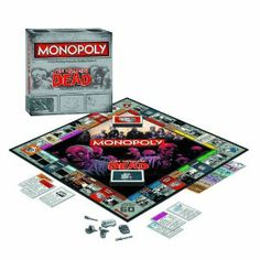 The Walking Dead Monopoly Survival Edition Game