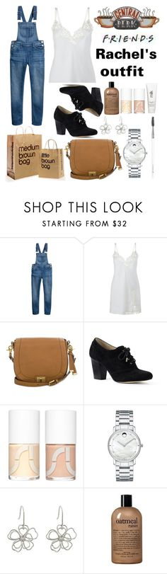 """""""Untitled #964"""" by helenaki65 ❤ liked on Polyvore featuring H&M, Brahmin, Lands' End, Uslu Airlines, Movado, philosophy, H2O+ and Old Navy"""