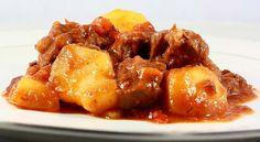 Carne guisada con patatas - Receta Thermomix