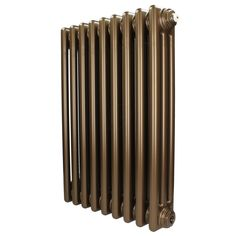 Revive x 3 Column Horizontal Retro Bronze Radiator - Mr Central Heating Horizontal Radiators, Column Radiators, Traditional Radiators, Wet Rooms, Wall Brackets, Paint Finishes, Cool Tools, Antique Copper, Wall Mount