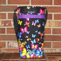 Custom Oxygen Tank Bag Tote Caddie Carrier- Go-Aire by HubbardLakeCrafts on Etsy https://www.etsy.com/listing/490815000/custom-oxygen-tank-bag-tote-caddie