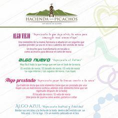 Tradiciones de boda. #tradiciones #bodas #haciendalospicachos