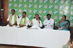 Dr.Thulasi Reddy,Sri R.D.Wilson,K.Satyanarayana And Smt. S.Sudharani.