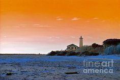 http://fineartamerica.com/featured/bibione-italy-photos-by-zulma.html?newartwork=true  #Zulma #Beach #Italy #lighthouse #sand #Bibione #photo