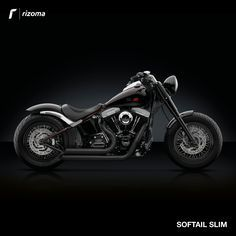 Rizoma Accessory Line for Harley-Davidson® Softail Slim Harley Davidson Fatboy, Harley Davidson Posters, Harley Davidson Custom Bike, Harley Fatboy, Harley Davidson Street Glide, Harley Davidson Motorcycles, Softail Slim Custom, Custom Bobber, Hd Fatboy