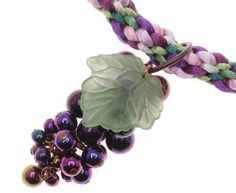 How to Make Beaded Grape Clusters Tutorials - The Beading Gem's Journal