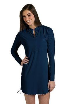 Ruche Swim Shirt: Sun Protective Clothing - Coolibar
