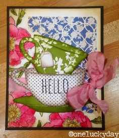 One Lucky Day: Sizzix and Stampers Anonymous - Chelle Fowler; Jan 2015