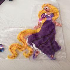 Rapunzel Tangled perler beads by sabine_rosendahl