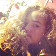 My post-bun hair