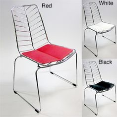 Wire Leaf Dining Side Chairs (Set of 2) | Overstock™ Shopping - Great Deals on Dining Chairs