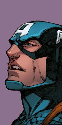 Captain America by Joe Madureira