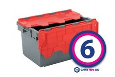 Plastic Crate Hire Set package 6 contains the following items and is great for moving a large house or larger office. #moving #crates #office #packaging #boxes #plasticcrates