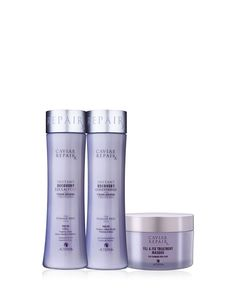 Repair damaged hair and prevent future breakage with CAVIAR Repairx. Prevents 95% of breakage. After just one use, 9 out of 10 women saw improved: strength, frizz control, softness & shine.