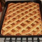 Jablkový mriežkový koláč « life in progress Waffles, Pie, Sweets, Breakfast, Food, Decor, Torte, Morning Coffee, Gummi Candy