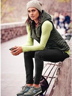 Valencia Vest | Athleta - love this whole outfit!